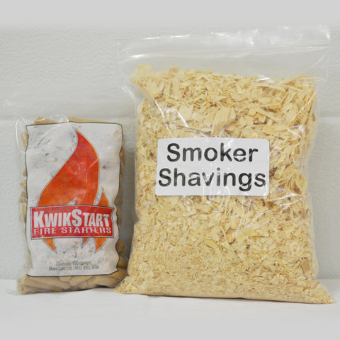 Smoker Fuel & Pine Shavings