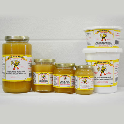 Wildflower Cream Honey