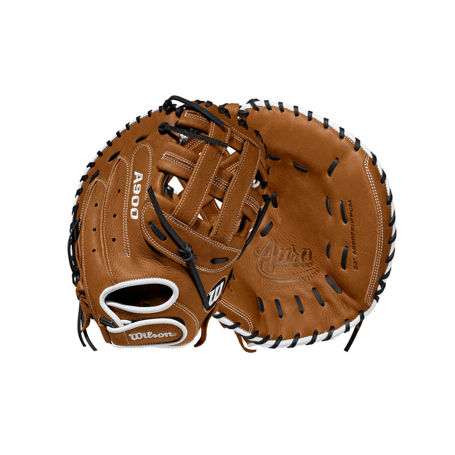 "A900 AURA 33"" Fastpitch CATCHER'S MITT Baseball Glove"