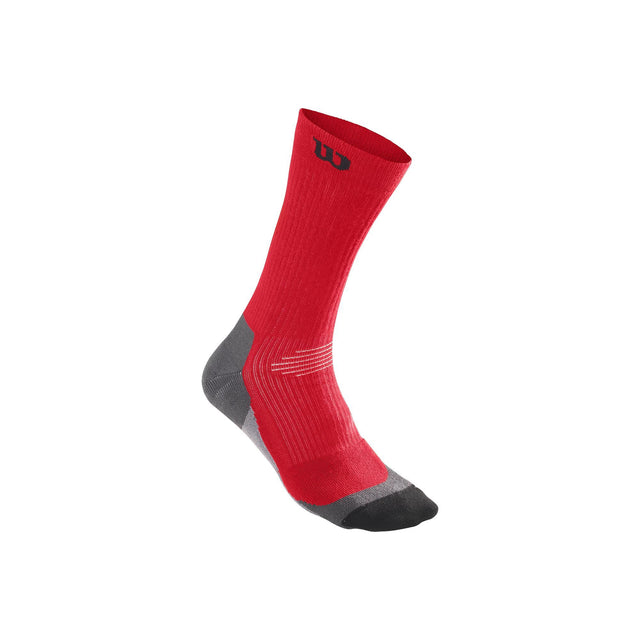 Men's High-End Crew Sock - Red