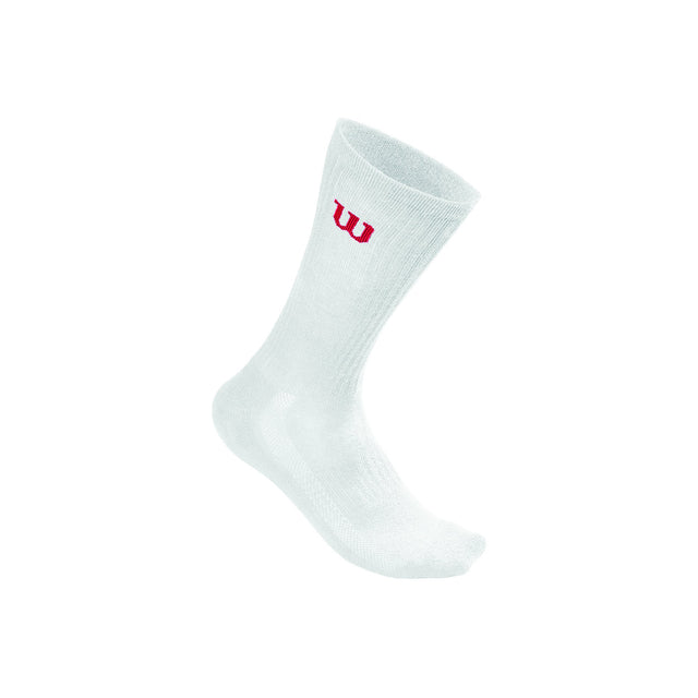 Men's White Crew Sock - 3 pack