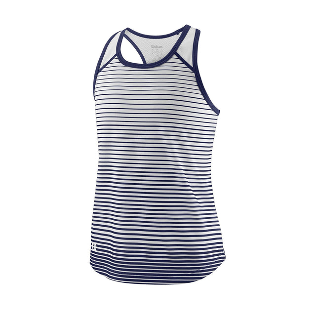 Girl's Team Striped Tank