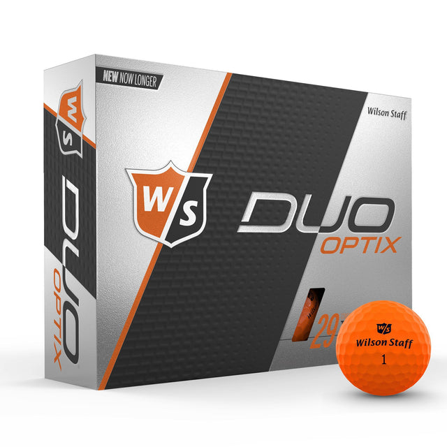 Staff Duo Soft Golf Ball - Optix Orange