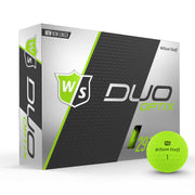 Staff Duo Soft Golf Ball - Optix Green