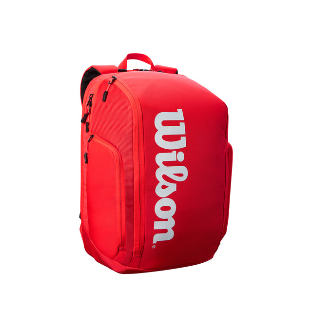 Super Tour Backpack Tennis Bag - Red
