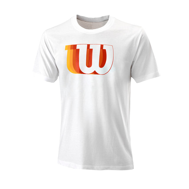 Men's Blur W Tech Tee - White