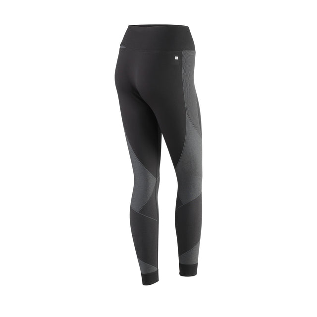 Women's Training Seamless Tight - Black/Turbulence
