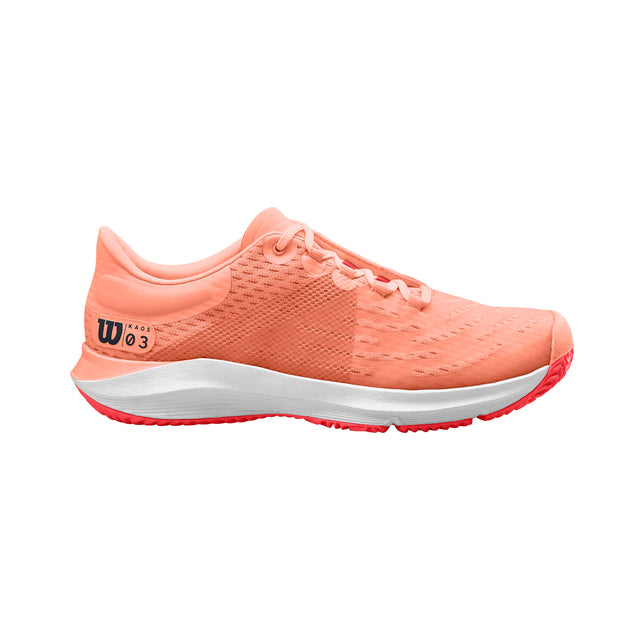 Women's Kaos 3.0 Tennis Shoe - Peach