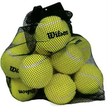 Pressureless Practice Tennis Balls 18-pack