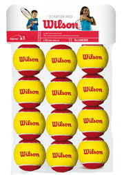 Starter Red Ball Tennis 12-ball pack