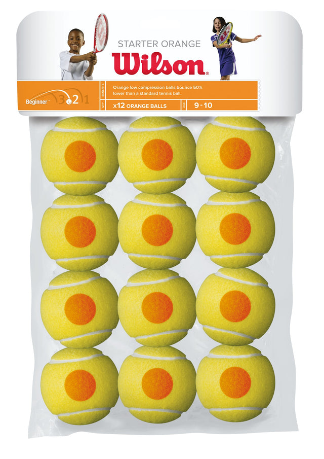 Starter Orange Tennis Balls - 12 ball pack
