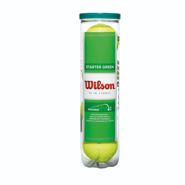 Starter Green Tennis 4-Ball Can