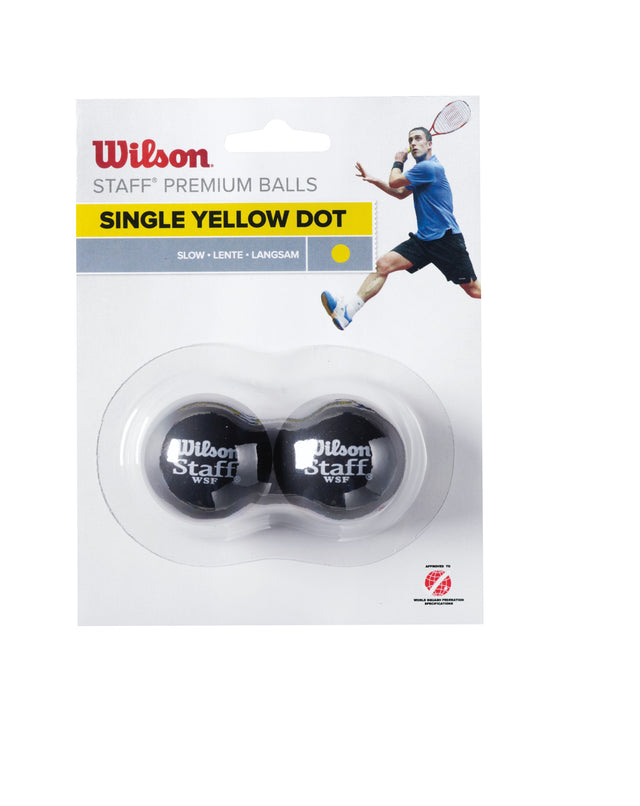 Staff Squash Ball - Single Dot