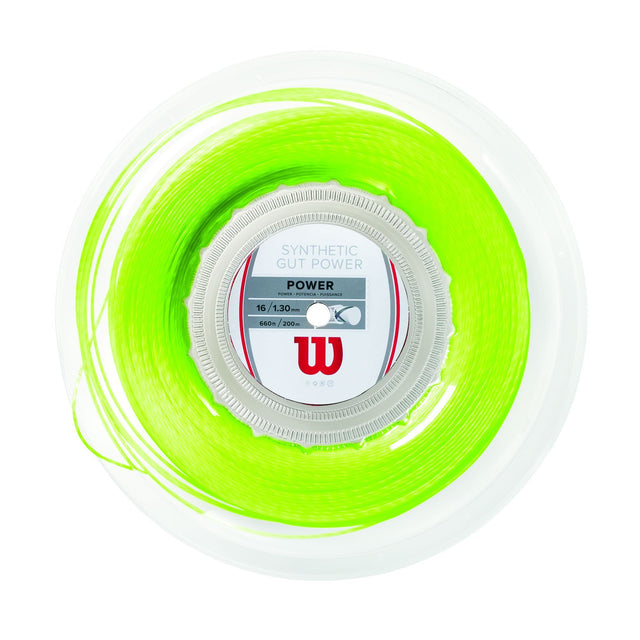 Synthetic Gut Power 16 Tennis String - Reel