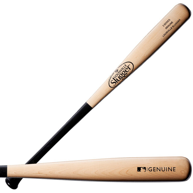 Louisville Slugger Series 3 Genuine Black/Natural Baseball Bat