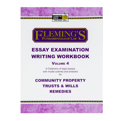 Essay Exam Writing Workbook4