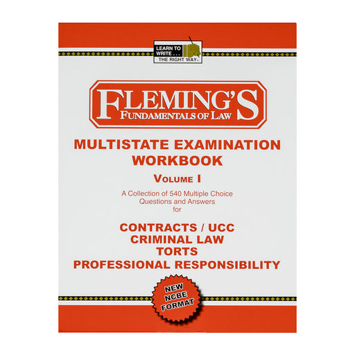 Multistate Examination Workbook - Volume 1