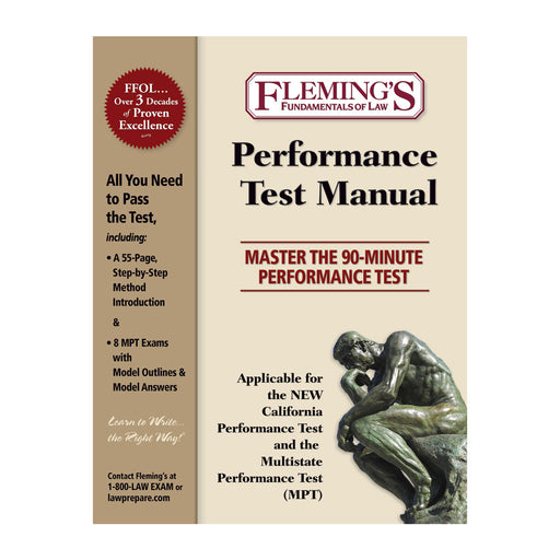 Performance Exam Solution Manual