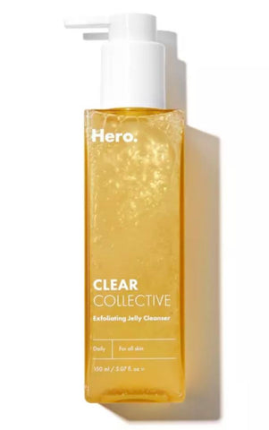 Hero Cosmetics Clear Collective Exfoliating Jelly Cleanser