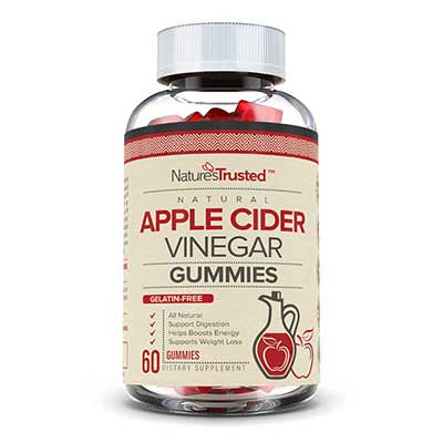 Nature's Trusted Apple Cider Vinegar Gummies