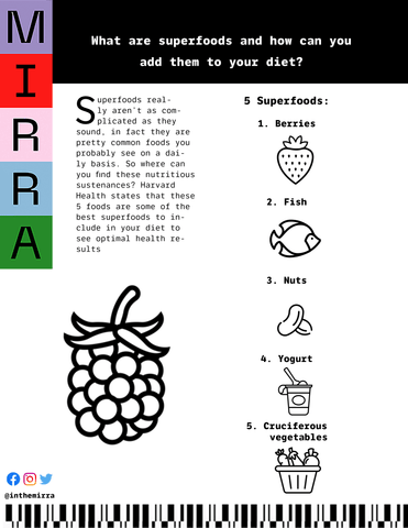 What are Superfoods and How Can You Add Them to Your Diet? I Mirra Skincare