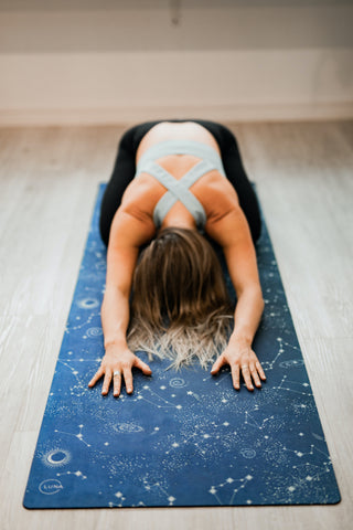 Crafting a Bedtime Yoga Routine to Help Catch Better Zzzs I Mirra Skincare
