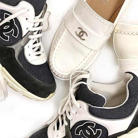 HOW TO AUTHENTICATE CHANEL SHOES - The