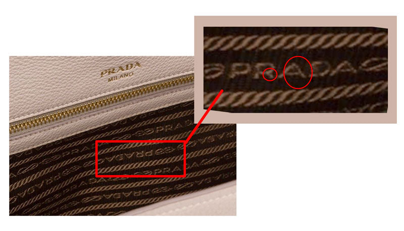 how to authenticate prada purse