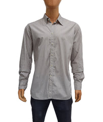 mens striped button down shirt on sale