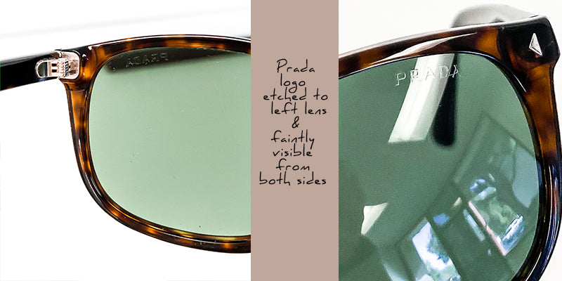 how to spot real prada sunglasses