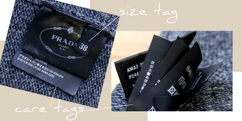 how to authenticate prada clothing