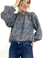 the great printed blouse on sale