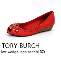 tory burch wedges on sale