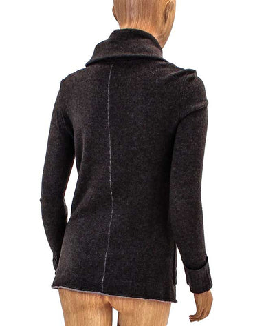 Front Pocket Cashmere Cardigan
