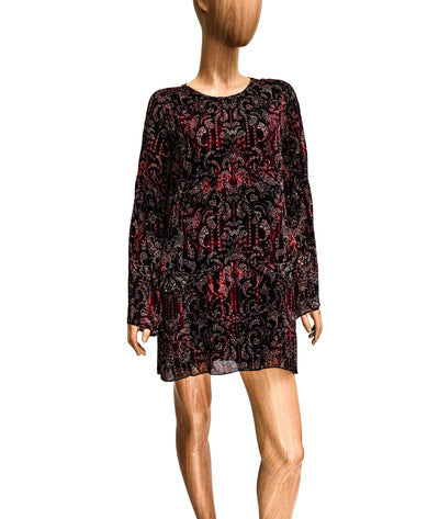 Appoline Bell-Sleeve Mini Dress