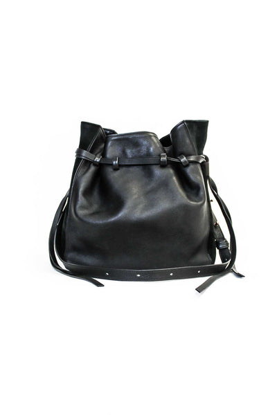 Lazar Leather Bucket Bag
