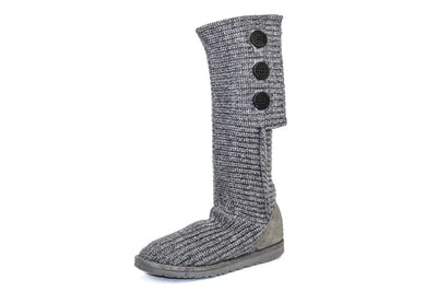 Classic Cardy Knit Boots