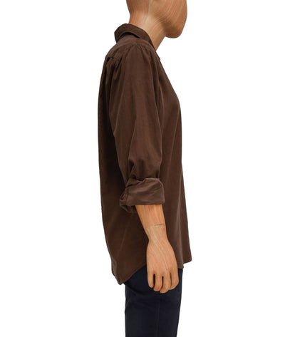 Brown Corduroy Button Down