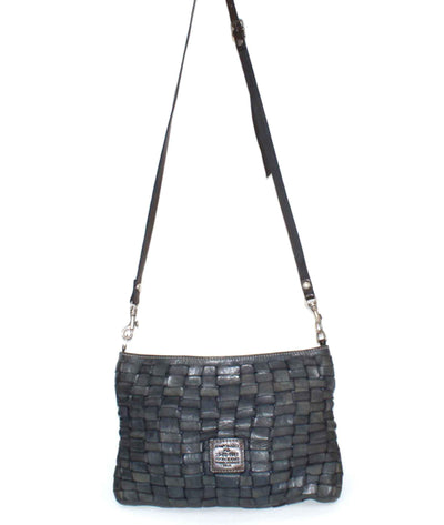 Edera Flat Pouch with Crossbody Strap
