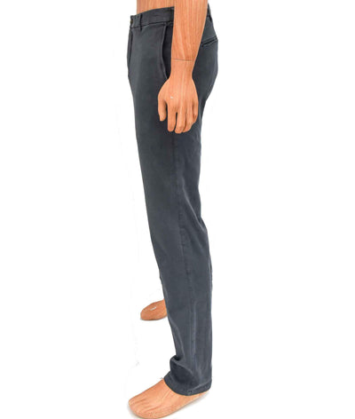 Twill Straight Leg Pants