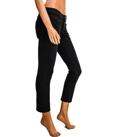 Mid-Rise Starlet Cropped Jeans