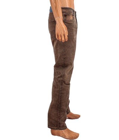 Distressed Straight Leg Jean