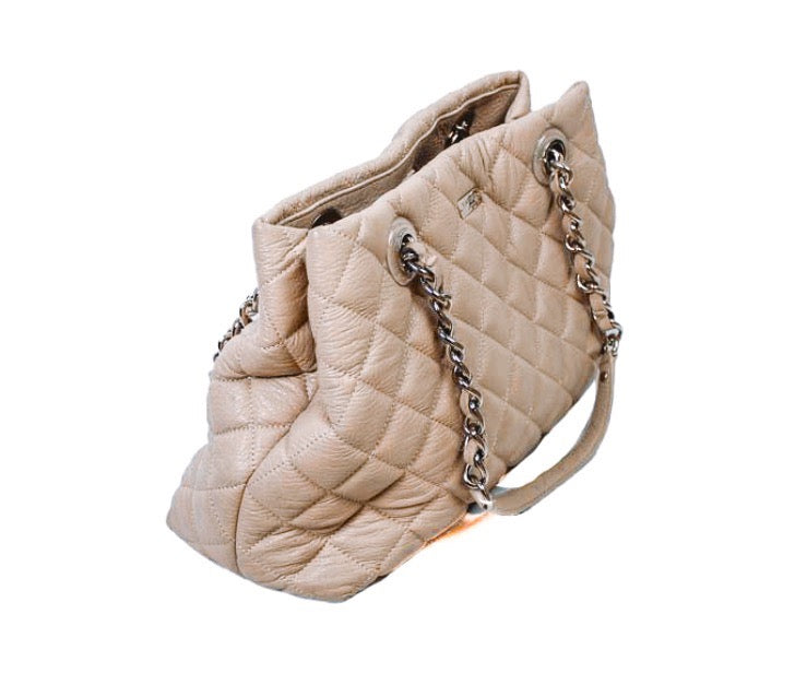 Medium Quilted Shoulder Bag