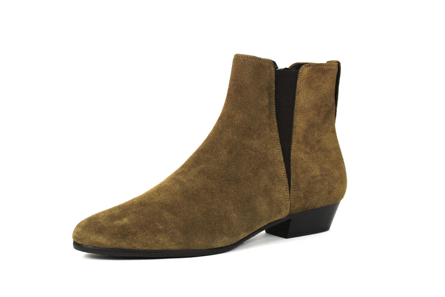 Hey Jude Shoes in Brown Suede