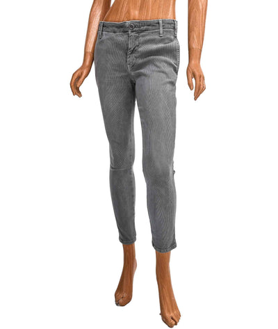 Mid-Rise Skinny Trouser Cords