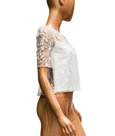 Open-Back Lace Top