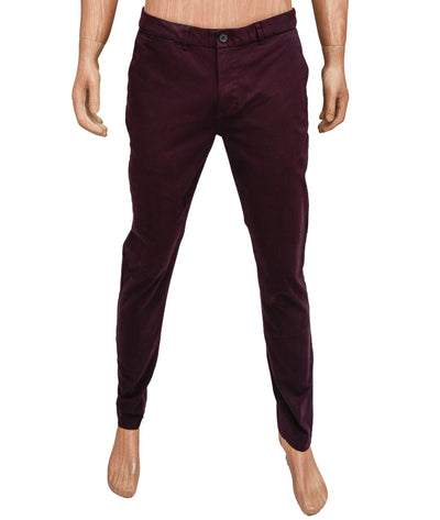 Regular Slim Fit Trousers