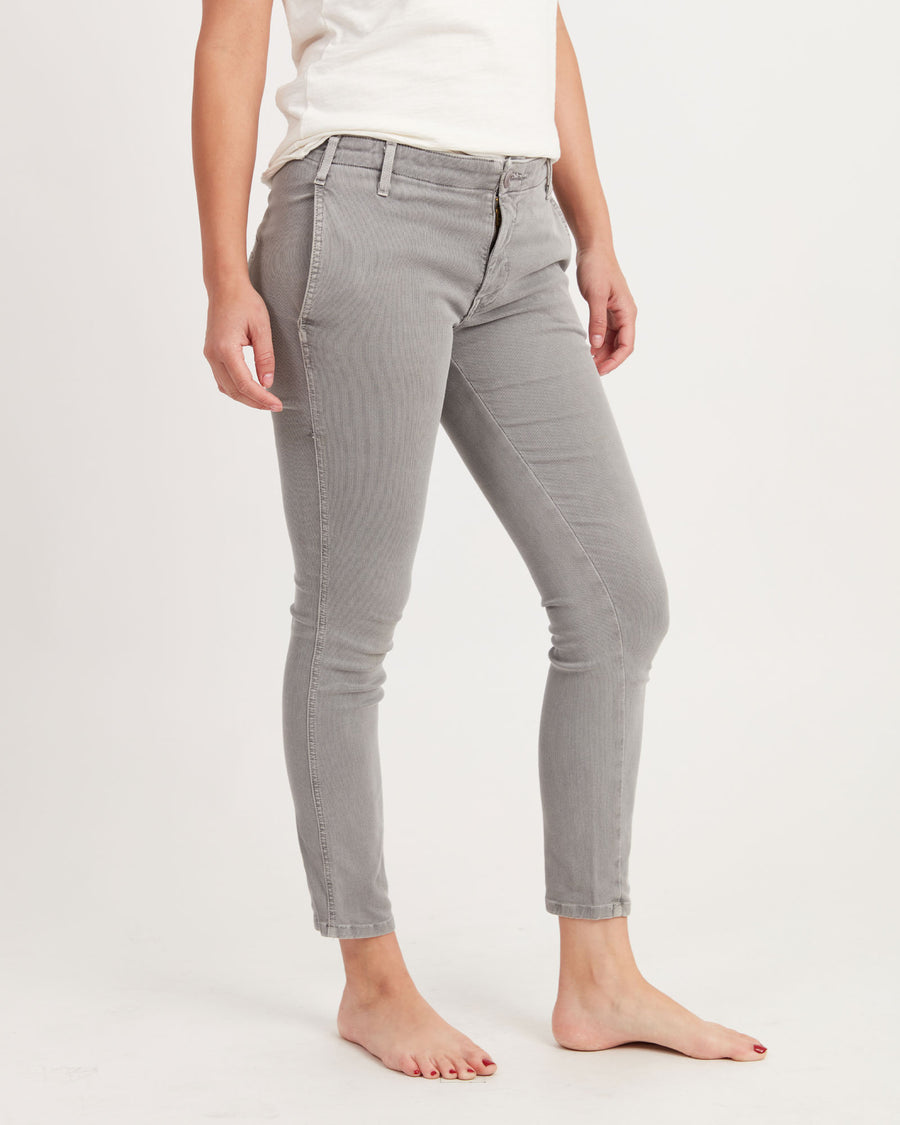 Textured Skinny Leg Pants