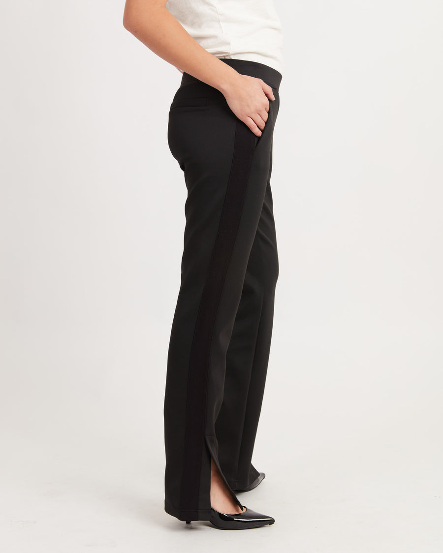 Black Racer Stipe Pants