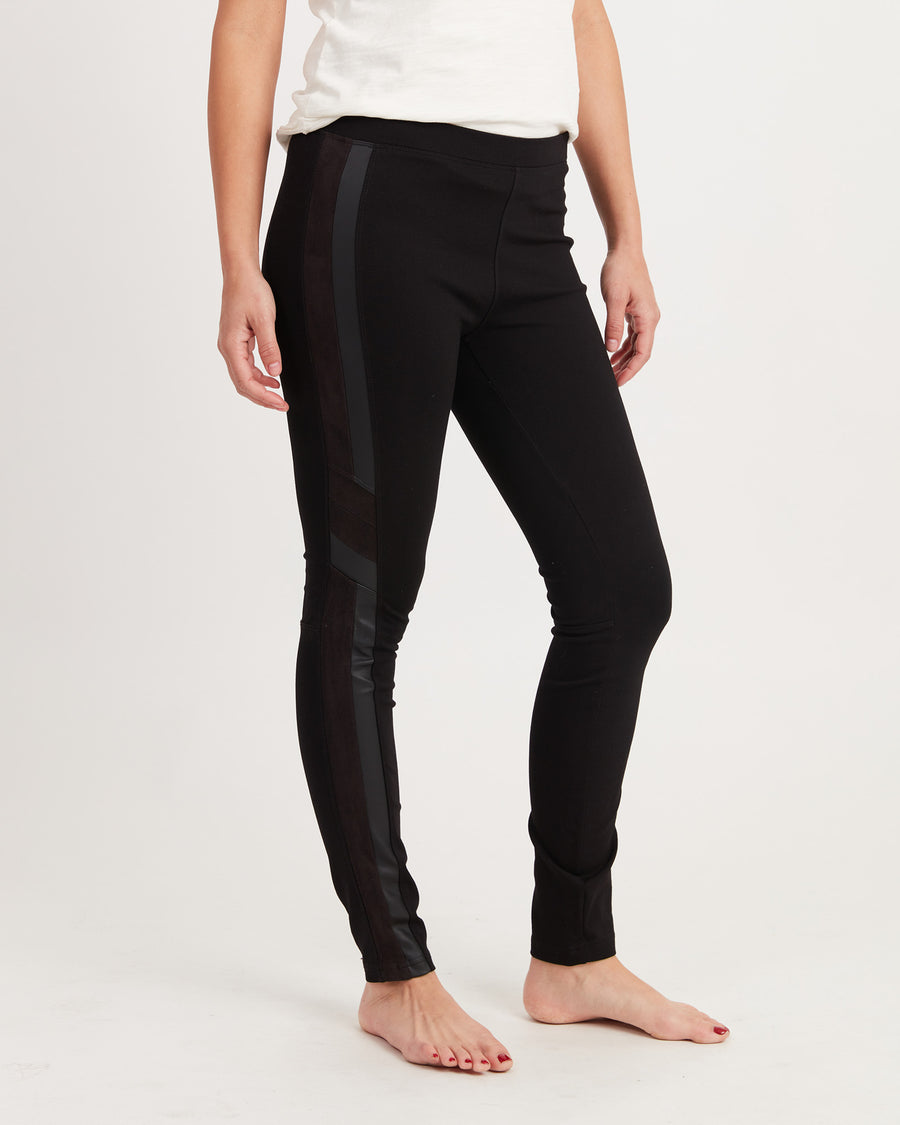 Black Skinny Leg Leggings